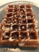 Rachel's Cinnamon Bun - Buttermilk Fine Waffles