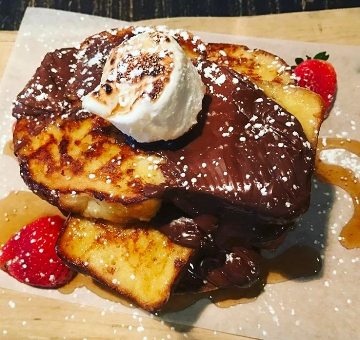 Smores French Toast - Cleaver