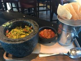 Table Side Smashed Guacamole
